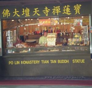 Po Lin monastery lantau island hongkong