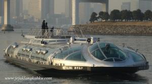 hotaluna water bus cruise asakusa odaiba