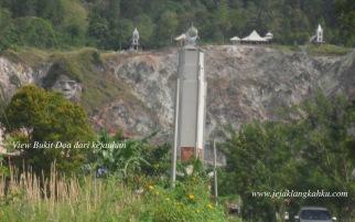Ukiran Wajah Nenek Moyang Minahasa di Bukit Doa / Bukit Kasih