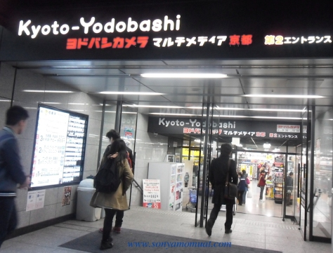 salah satu pusat elektronik di Kyoto