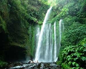 tiu kelep water fall beautiful