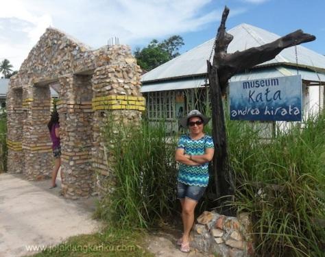 museum kata belitung timur desa gantung