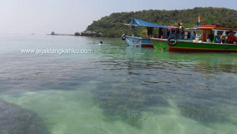 wisata bahari lampung underwater beach