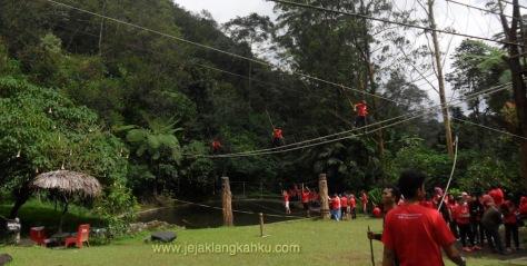 trekking taman safari puncak 14-1