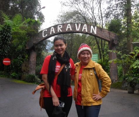 trekking taman safari puncak 20