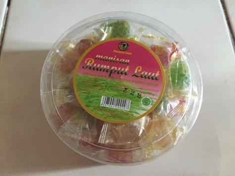 manisan rumput laut lombok 1